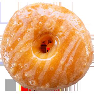 Guava Cream Cheese Donut