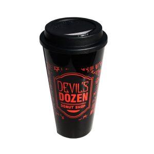 Devil's Dozen Logo To Go Cup