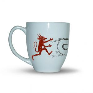 Devil Porcelain Coffee Mug